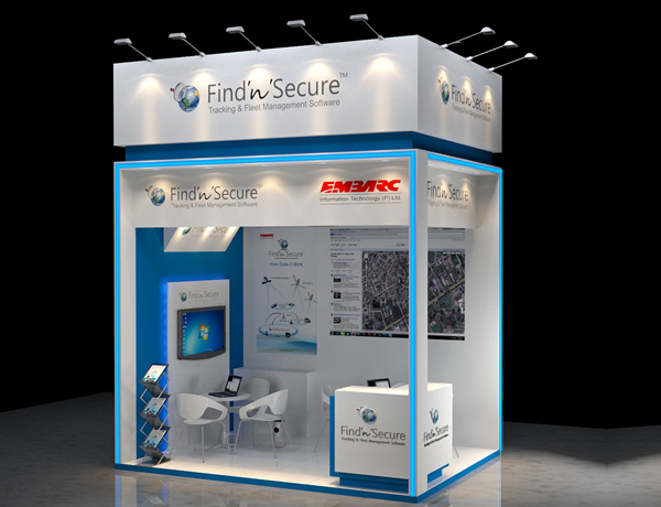 Exhibition Stall Suppliers : Frp exhibition stalls by innoways creations